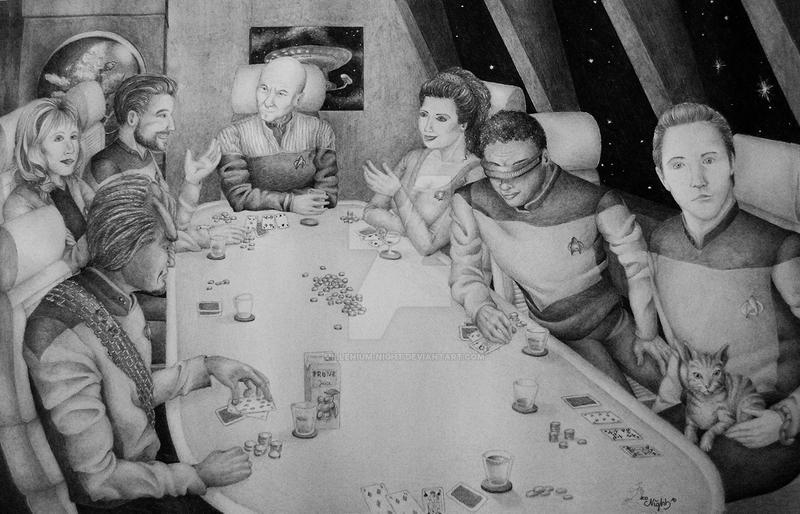 Star Trek Poker by millenium-night