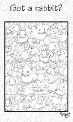 Rabbits, rabbits everywhere!