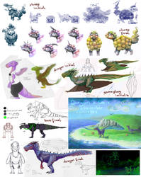 Dargon's Lair character concepts