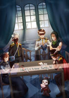 Identity V Fantasy AU / Survival side by HaineTed