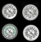 Labor union-style band logo