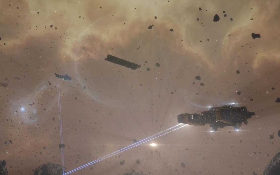 Mining Fleet02 by EffKay9