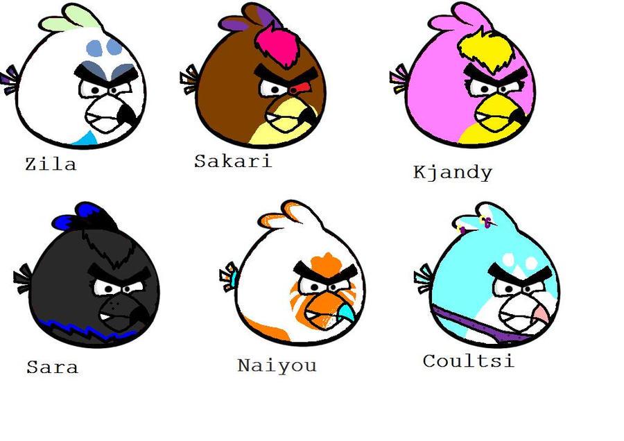 MUN KAMUT MUUTTU ANGRY BIRDSEIKS! D: by LuciWolf