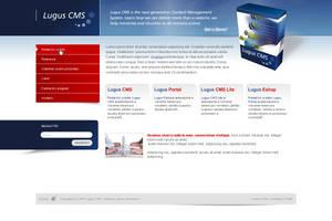 CMS website by luqa