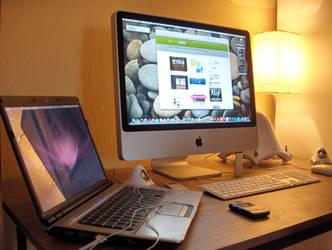 My new iMac by luqa
