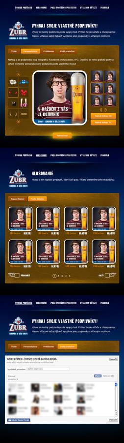 Zubrbojovnik FB application