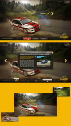 Rally Croatia microsite by luqa