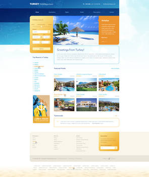 Travel holidays website