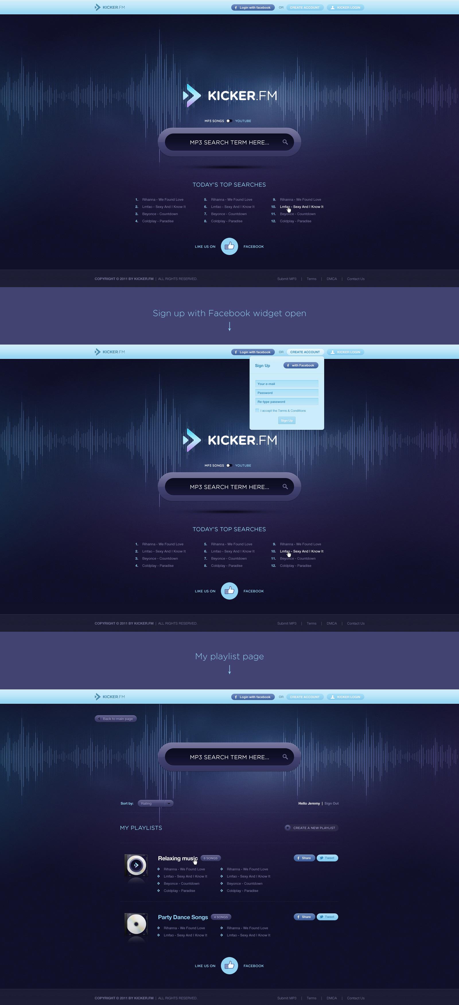 Kicker.fm by luqa