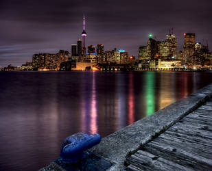 Toronto Night Shot by pictureguy