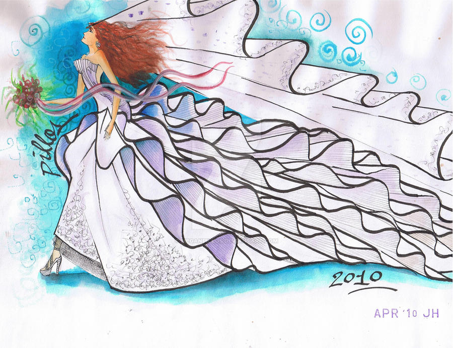 Long Dress by MeganPillos