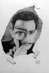 Salvador Dali by valeriafernand