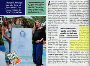 Dani Freitas - Revista Caras