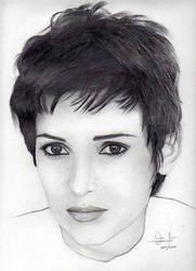 Winona Ryder by valeriafernand