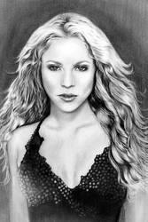 Shakira by valeriafernand