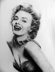 Marilyn Monroe by valeriafernand