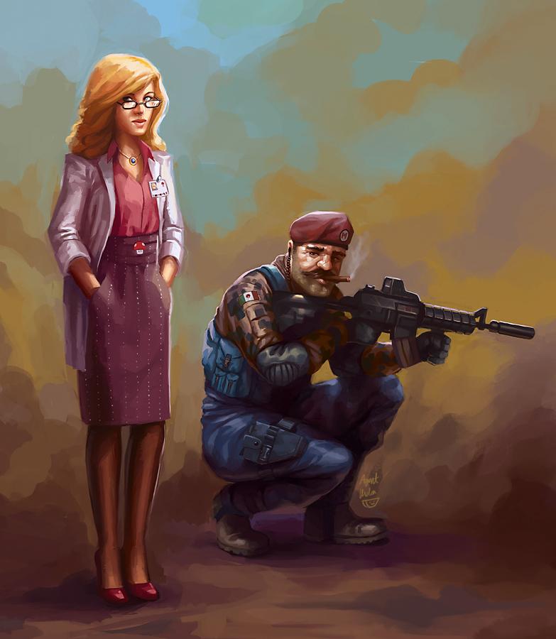 Super Mario Warfare by agentscarlet
