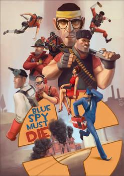 Blue Spy Must Die