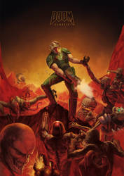 Doom Tribute by agentscarlet