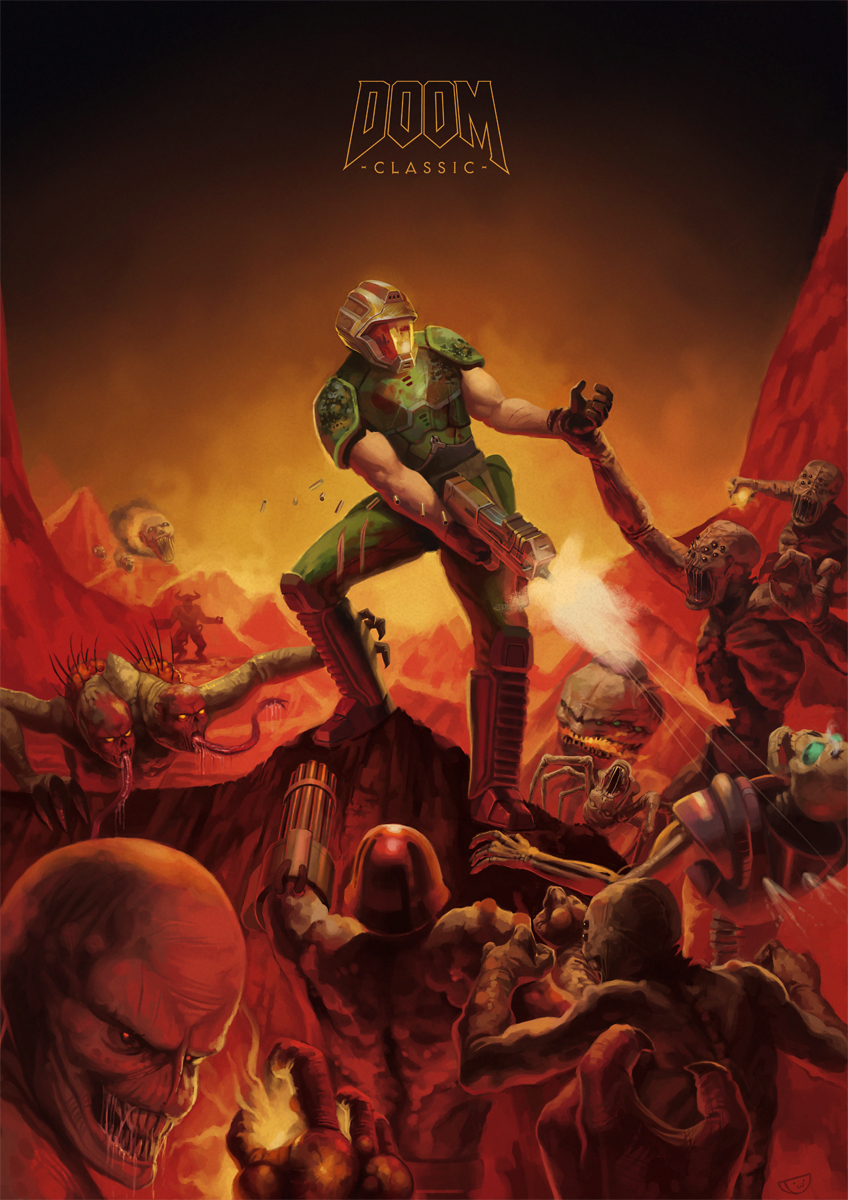 Doom Tribute by agentscarlet