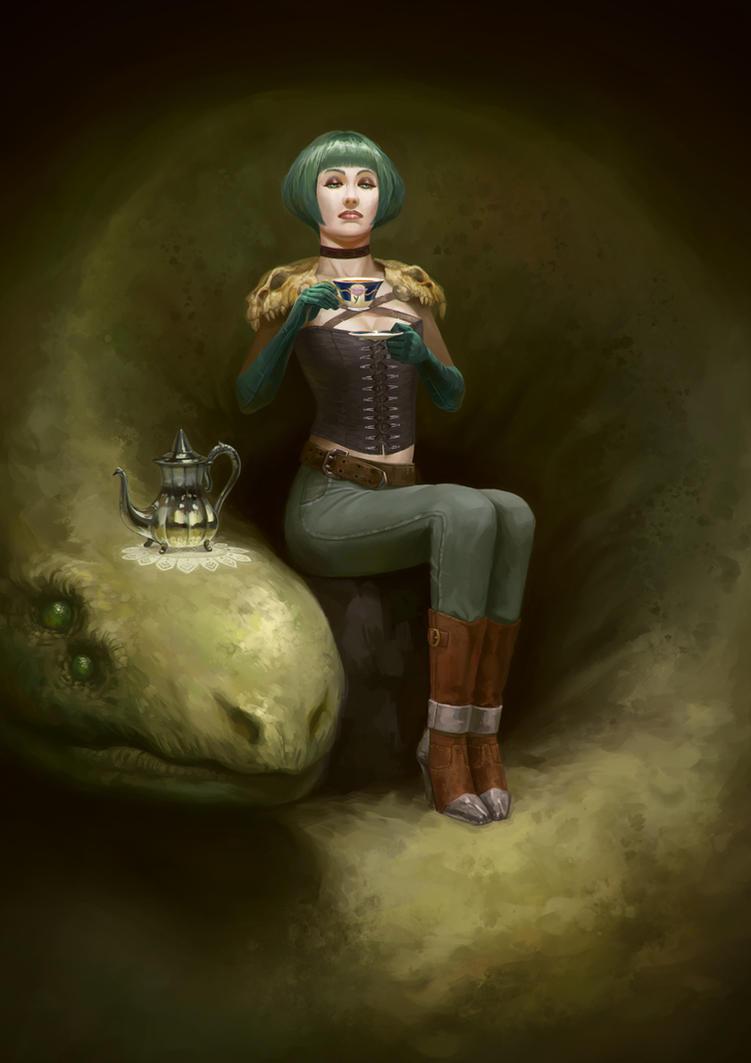 Mistress by agentscarlet