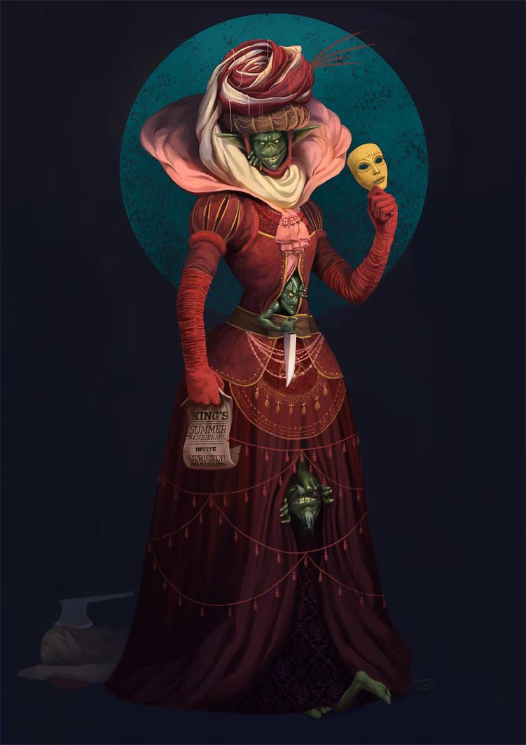 Masquerade by agentscarlet