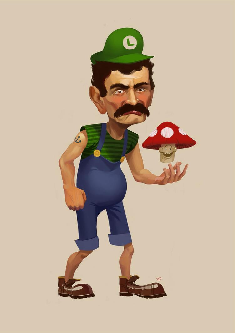Luigi by agentscarlet