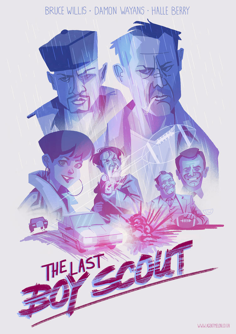 The Last Boy Scout by agentscarlet