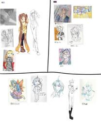 Sketchpaj by Tweanie-Chan