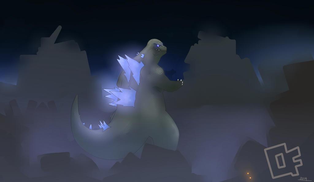 Godzilla2014bluenew by Minicollosus