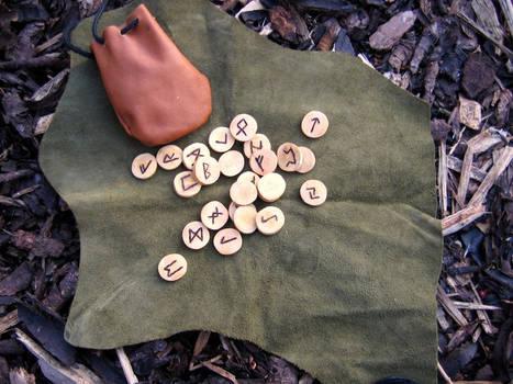 Apple wood runes
