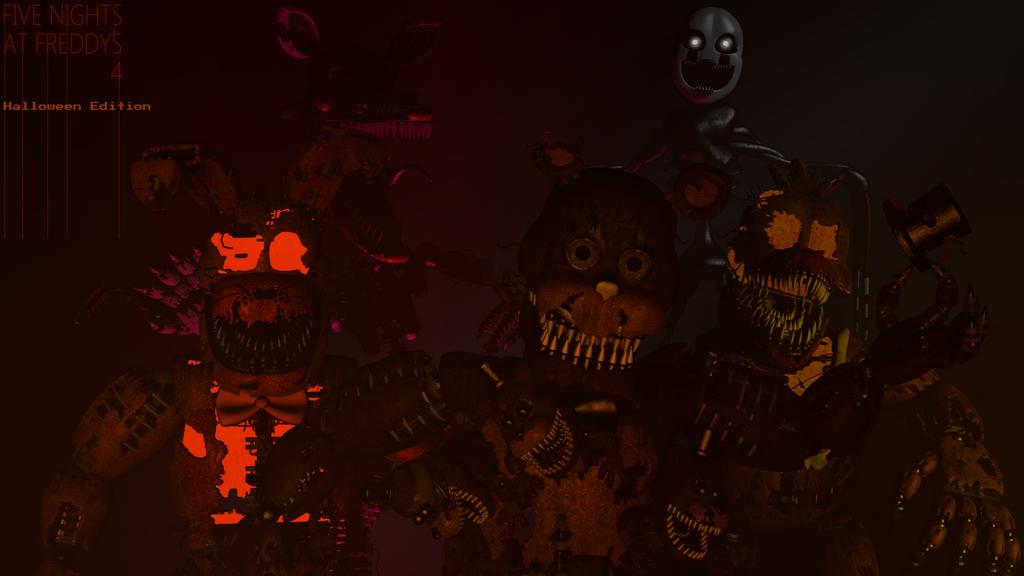 FNAF 4 Halloween Edition by ShadowArtist111 on DeviantArt