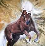 Horse of the Field by EleniGKArt