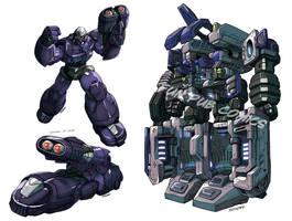Pre-Beast Wars Megatron by FunPubComics
