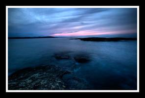 Black Rocks Dusk HDR by Moosejaw