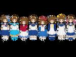 The 8 Incarnations of Little Arle Nadja (Kisekae)