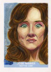 Roslyn sketch card by JLWarner