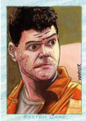 Chief sketch card by JLWarner