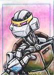 Metalhead sketch card
