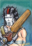 Casey Jones sketch card