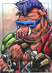 Bebop sketch card