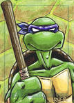 Donatello sketch card
