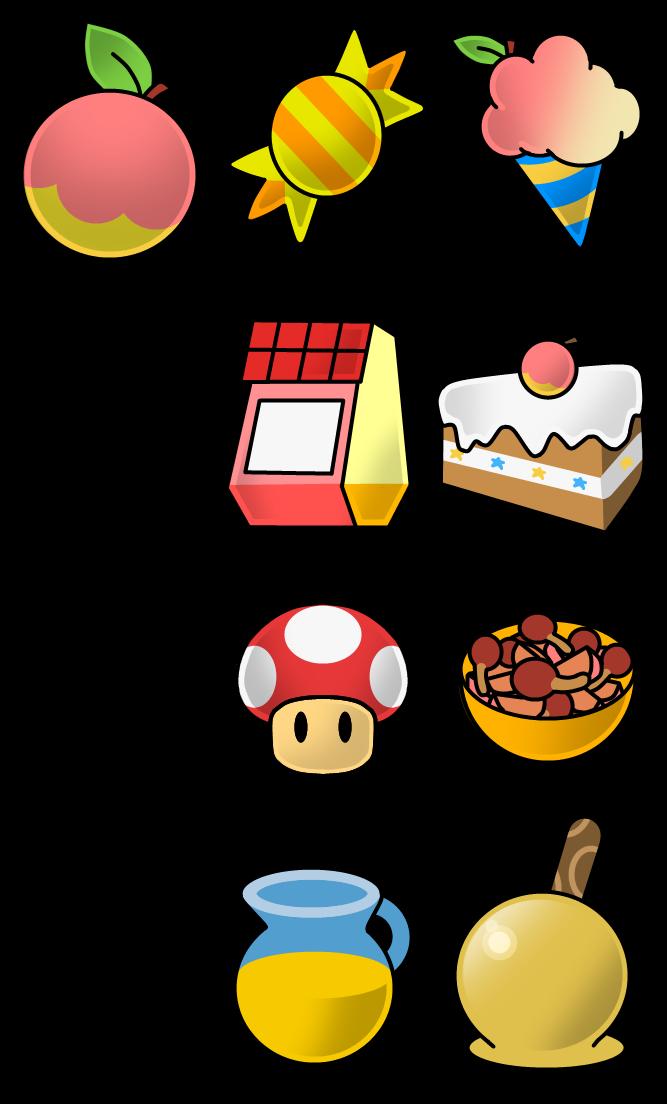 Paper Mario Food Recipes