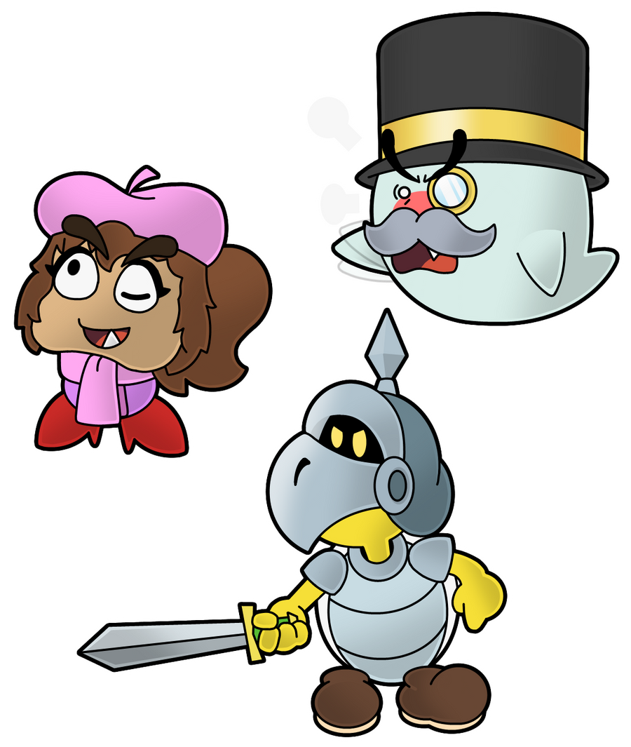 Paper Mario CTC Characters By The-PaperNES-Guy On DeviantArt