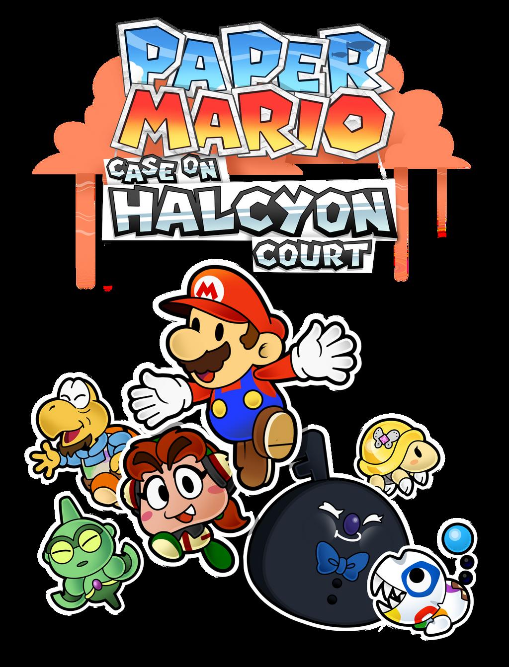 The papernes guy bronson hunt deviantart paper mario case on halcyon court a new start mightylinksfo