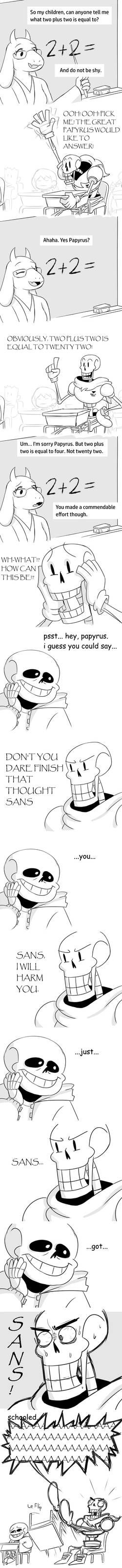 Undertale Comic Thingy by The-PaperNES-Guy on DeviantArt