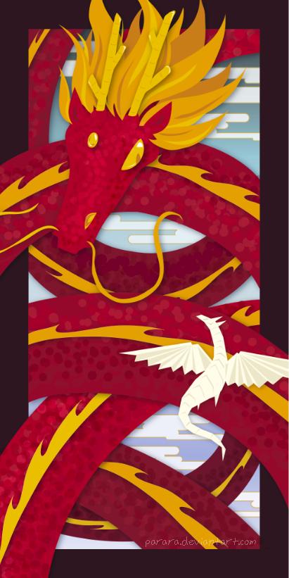 dragon weave by merumori