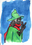 Ralsei Watercolor by ploskostnost