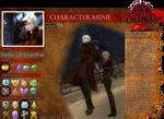 Guild Wars 2 Character Meme - Rebecca Shamhat