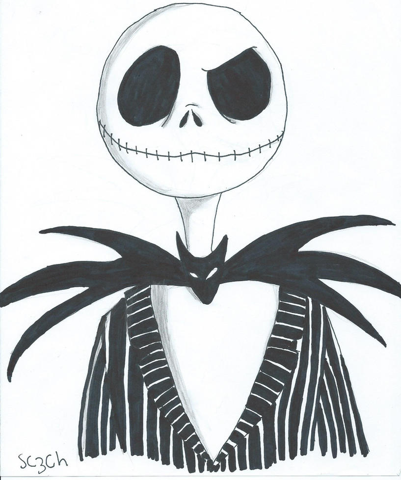 Jack Skellington Coloring Pages  GetColoringPagescom